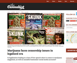 Marijuana Censorship Issues