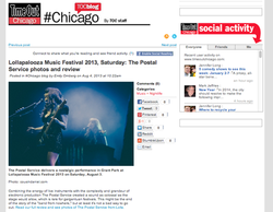 The Postal Service concert review