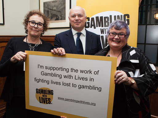 Gambling with Lives - Parliamentary Launch
