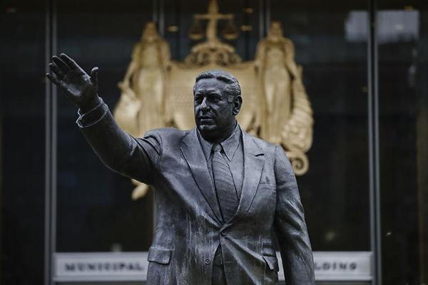 Frank Rizzo Statue - The Philadelphia Tr