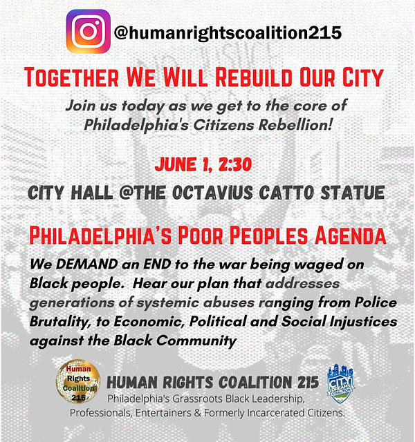 Human Righs Coalition 215 Event Flyer 6-