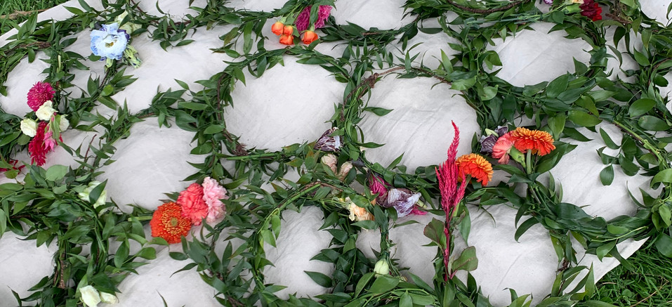 Pre-made floral crowns
