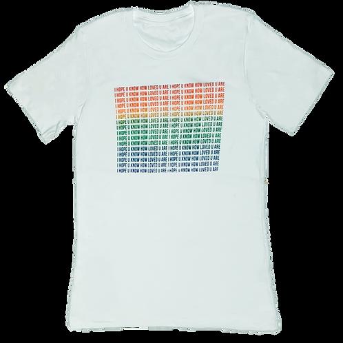 Pride Block- I hope u know how loved u are