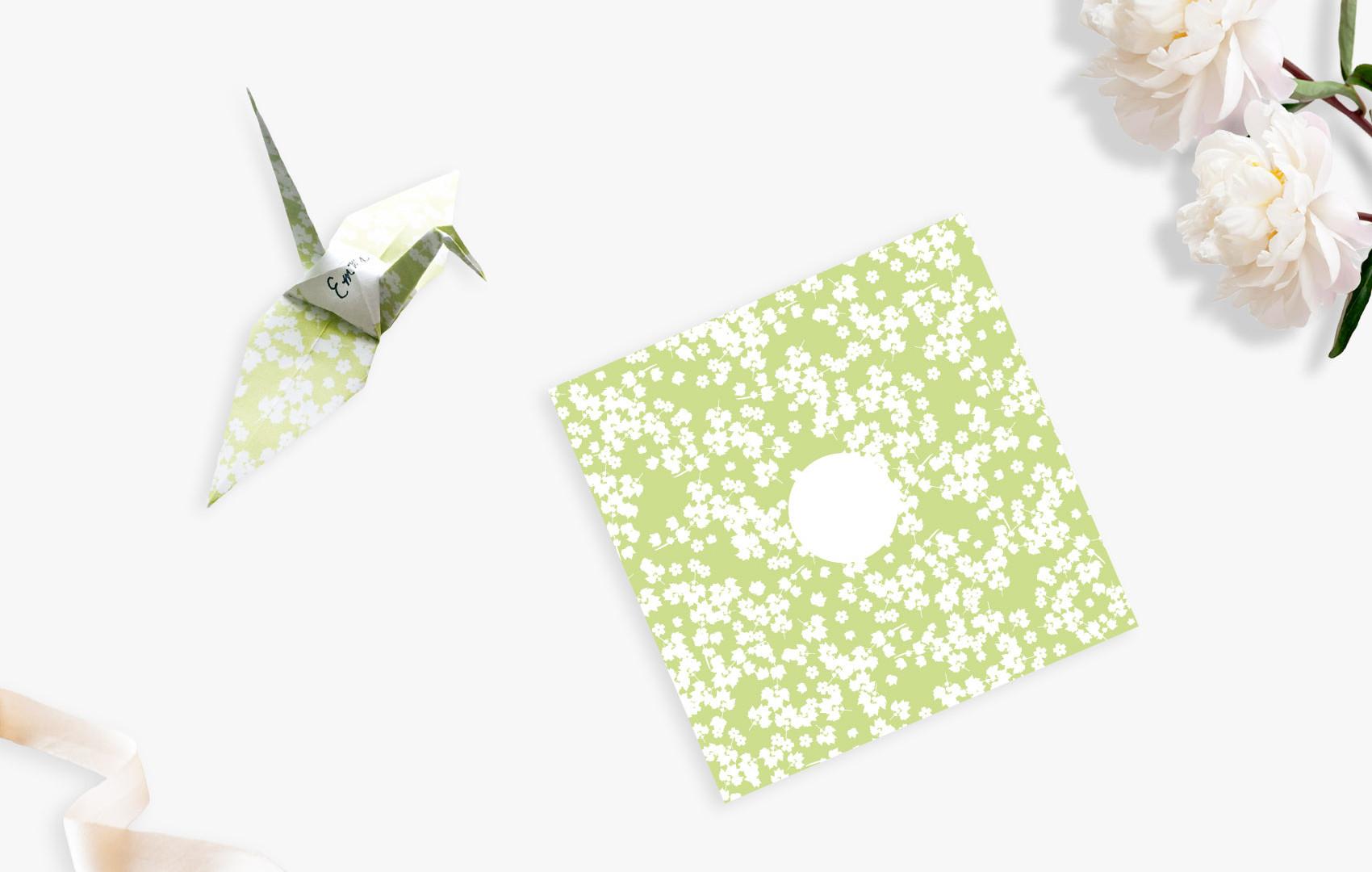 Paper Crane Placecards