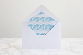 Avatar Birthday Card Envelope Liner