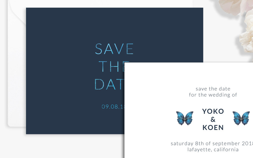 Save the Date (close up)