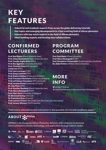 Scientific Organization Flyer (BACK)