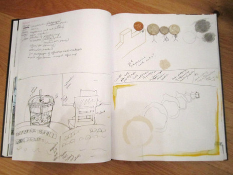 Coffee Set Journal Page 3