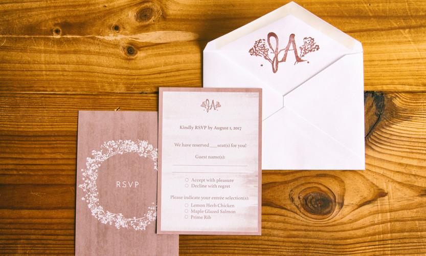 RSVP & Envelope