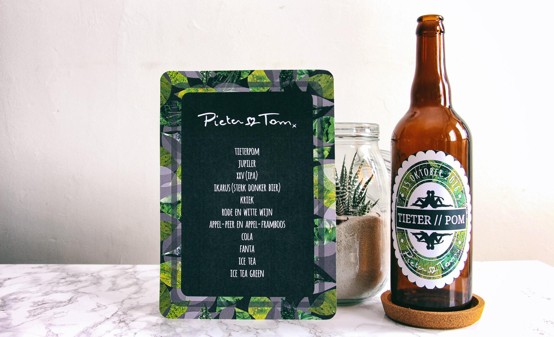 Drinks Menu & Beer