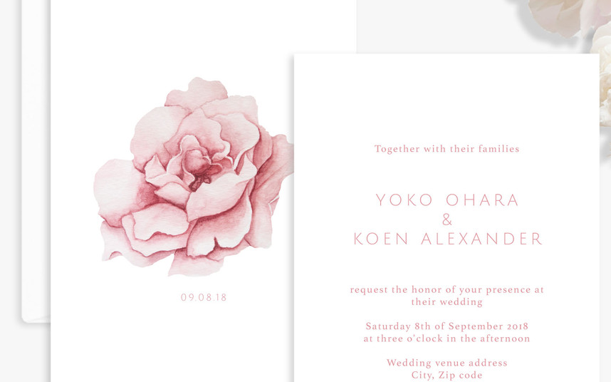 Invitation (close up)