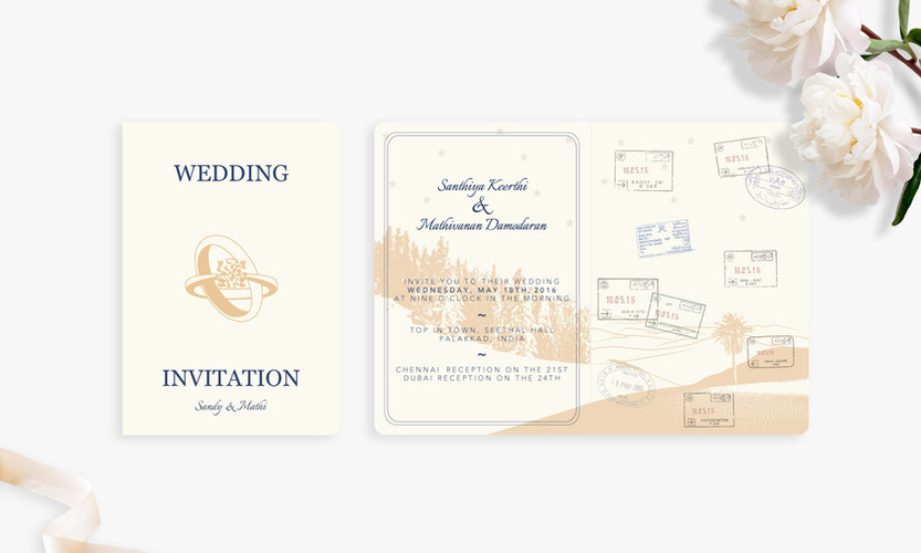Invitation (front & inside)