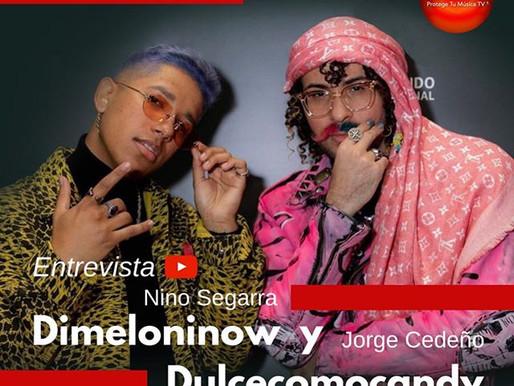 Entrevista a Nino Segarra @dimeloninow y Jorge Cedeño @dulcecomocandy.pr Productores Musicales