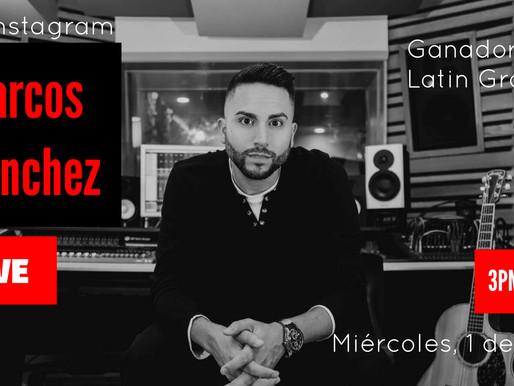 Entrevista al productor Marcos Sánchez en nuestro canal de Youtube