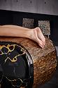 SQUARE Treatment 006: Mesas de masajes húmedos con sistema de calefacción y altura regulable. Fabio Alemanno: Diseño para Spa y Interiores.