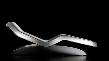 CLEOPATRA MODERNO BLANCHE: Tumbonas de Diseño calefactadas para Relajación. Fabio Alemanno: Diseño para Spa y Interiores.