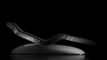 CLEOPATRA MODERNO NOIRE: Tumbonas de Diseño calefactadas para Relajación. Fabio Alemanno: Diseño para Spa y Interiores.