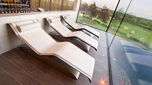 LUXURY SPA DESIGN 6: Heated Loungers | Infra-red Heated Marble Loungers | Tiled Loungers | Wellness Loungers | Heated Sauna Loungers | Relaxation Loungers | Tiled Loungers | Relaxation Lounge Chairs for Hotel & Spa Design | Loungers for Sauna & Wellness Design | Loungers for Hammam & Steam Bath.