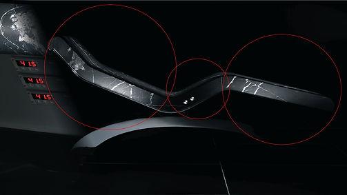 Chaise Longue de Diseño CAESAR: CONFORT SIN COMPROMISO; 3 ZONAS DE SUPERFICIE CALENTADA.