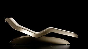 CLEOPATRA MODERNO IVOIRE:Tumbonas de Diseño calefactadas para Relajación. Fabio Alemanno: Diseño para Spa y Interiores.