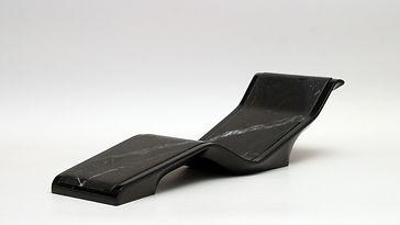 DIVA BASICO NOIRE: Tumbonas Térmicas Calefactadas  para sala relax y Spas. Fabio Alemanno: Diseño para Spa y Interiores. Chaise Longue de Diseño.