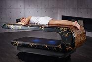 SQUARE Treatment 003: Mesas de masajes húmedos con sistema de calefacción y altura regulable. Fabio Alemanno: Diseño para Spa y Interiores.