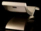 CLEOPATRA CLASSICO IVOIRE: Chaise Longue de Diseño en mármol con sistema de calefacción y mecanismo de inclinación.