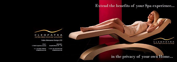 INFRARED HEATED LOUNGERS, HEATED LOUNGE CHAIRS, LUXURY HEATED LOUNGERS
