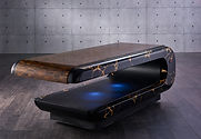SQUARE Treatment 010: Mesas de masajes húmedos con sistema de calefacción y altura regulable. Fabio Alemanno: Diseño para Spa y Interiores.
