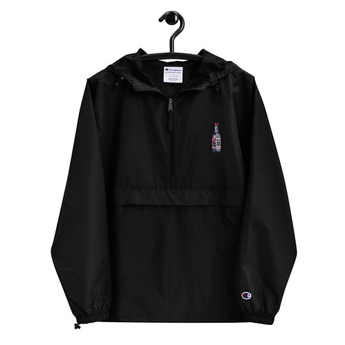 Limited Edition KDA Fresh Soju Embroidered Champion Packable Jacket