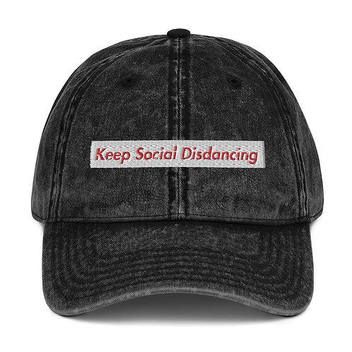 Limited Edition KDA Vintage Cotton Twill Cap