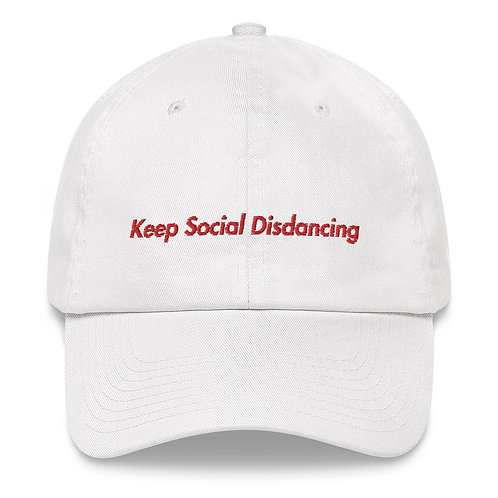 Limited Edition Keep Social Distancing Dad hat