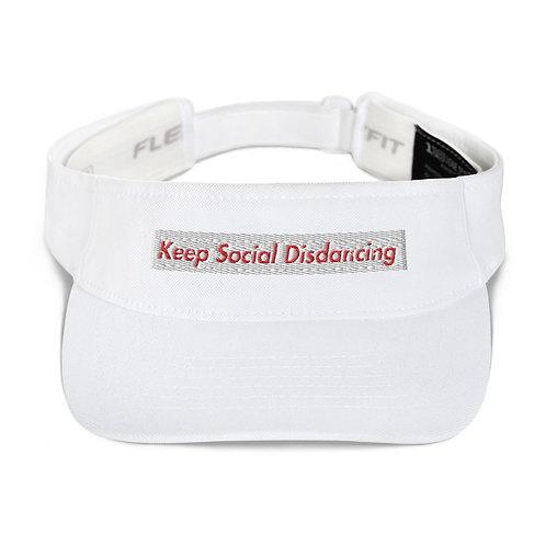 Keep Social Dancing Limited Edition KDA Visor Version #2