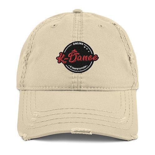 KDA Distressed Dad Hat