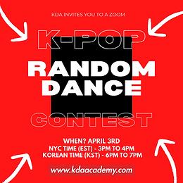 K-POP RANDOM DANCE CONTEST (Central Europe Time)