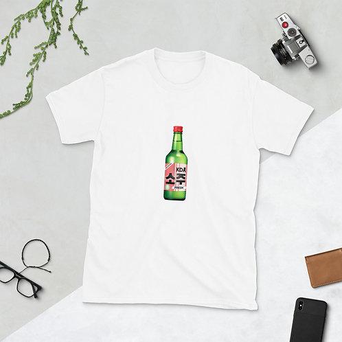 Limited Edition KDA Fresh Soju Short-Sleeve Unisex T-Shirt