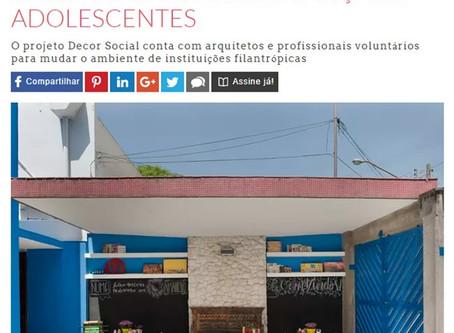 Confira a matéria no site da Casa & Jardim e saiba mais sobre esse lindo projeto transformador.