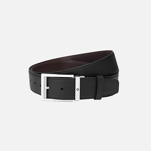 Cintura nera/marrone reversibile regolabile Id.126737