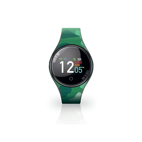 FREETIME CAMOUFLAGE GREEN