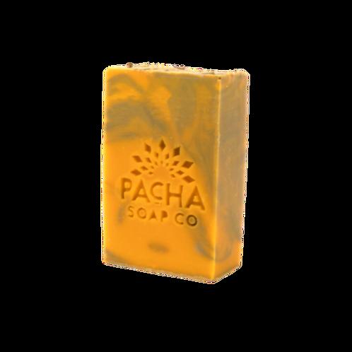 Pacha Soap Co 4oz Spearmint Lemongrass Bar Soap