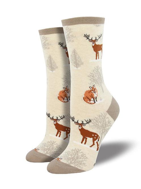 "Socksmith ""Winter Forrest"" Graphic Socks"