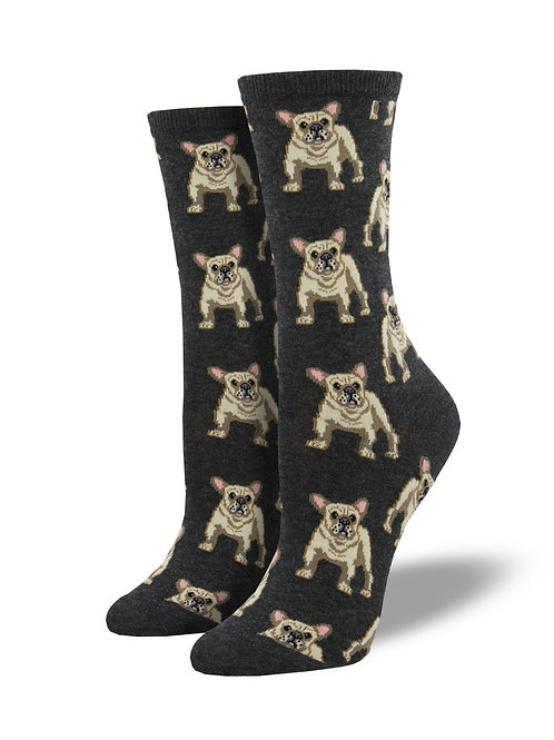 "Socksmith ""Frenchie"" Graphic Socks"