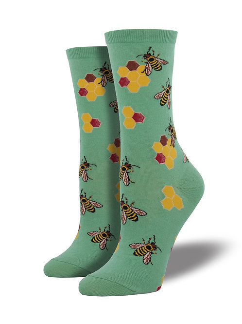 "Socksmith ""Busy Bees"" Graphic Socks"