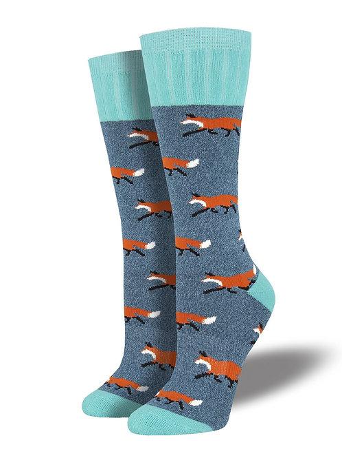 """Socksmith Outlands """"Fox Trot"""" Socks"""