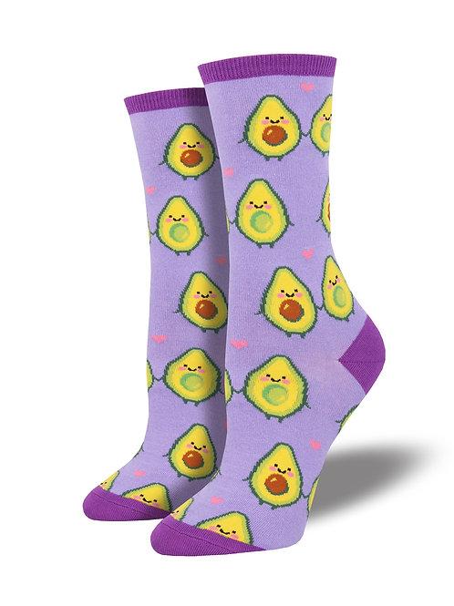 "Socksmith ""You Guac My World"" Graphic Socks"