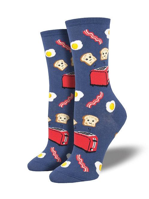"""Socksmith """"Good Morning"""" Graphic Socks"""