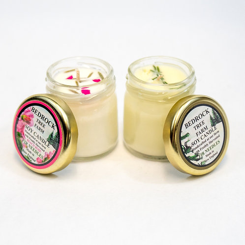 Bedrock Tree Farm 1.25oz Mini Mason Jar Candle