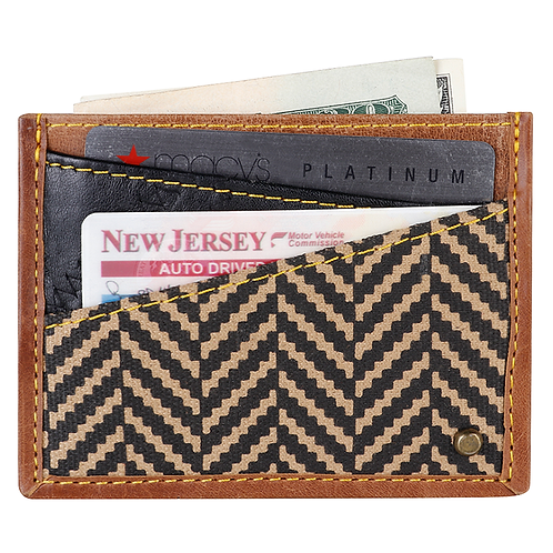 Vaan & Co Henry Classic Credit Card Holder