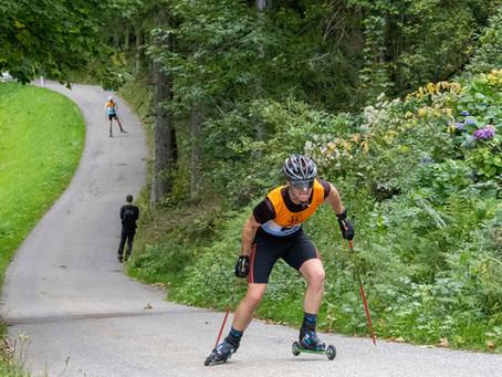 Moritz Waidelich überzeugt bei den Deutschen Meisterschaften im Rollski