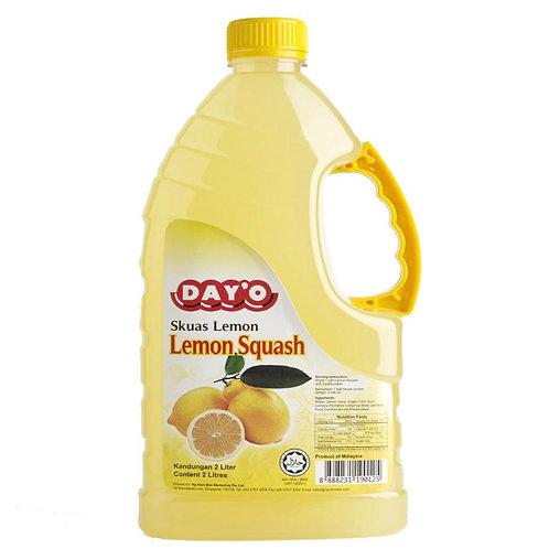 "DAY ""O"" Lemon Squash Syrup 2L"